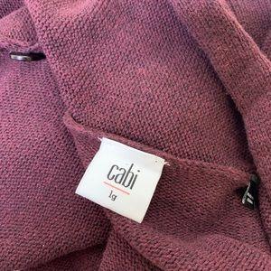 CAbi Sweaters - Cabi Wrap Cardigan Port Fringe # 3002 Large L